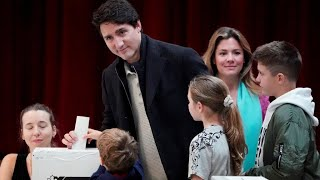 Trudeau's Liberal Party projected to retain power in Canada as minority government