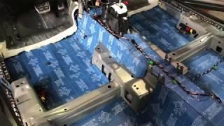 Виброизоляция и шумоизоляция пола Volkswagen Tiguan. Шумка днища изнутри с применением БлокШот