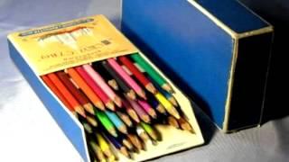 Коробка с карандашами