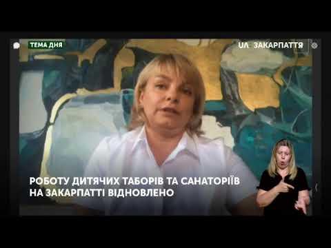 Тема дня. Роботу дитячих таборів та санаторіїв на Закарпатті відновлено (07.08.20)