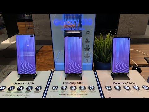 Samsung Galaxy S10 Serisine Ilk Bakış (Canlı Yayın Tekrarı)