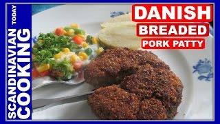 Karbonader - Danish Breaded Pork Patty Recipe