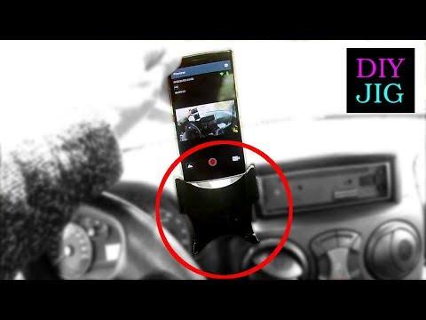 DIY JIG - Mobile phone holder for the car