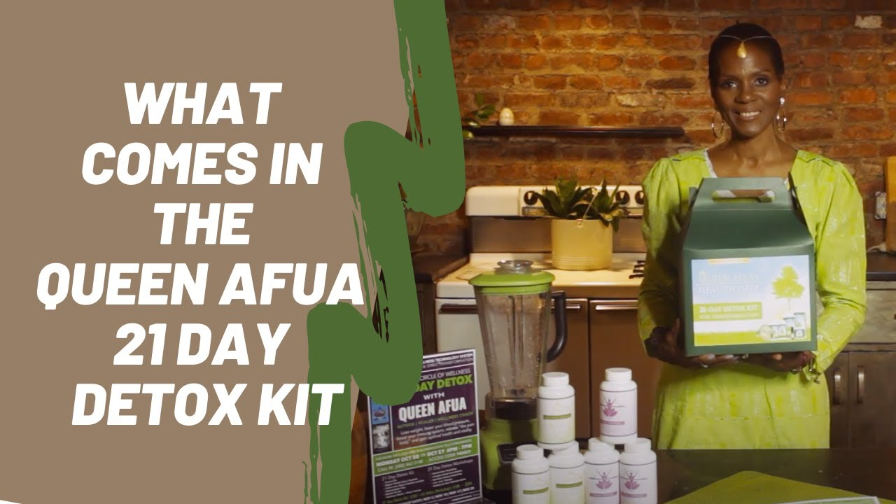 What Comes In The QA 21 Day Detox Kit