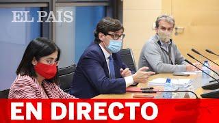 DIRECTO #CORONAVIRUS | SALVADOR ILLA, CAROLINA DARIAS y FERNANDO SIMÓN comparecen en rueda de prensa