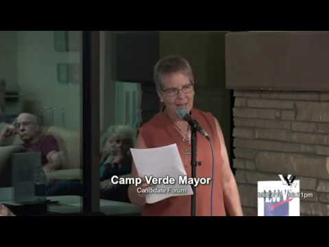 LWV Greater Verde Valley Chapter: Camp Verde Mayor Candidate Forum