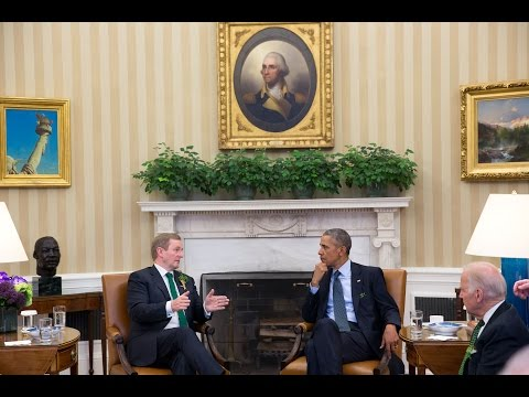 President Obama and Prime Minister Kenny of Ireland Deliver Remarks