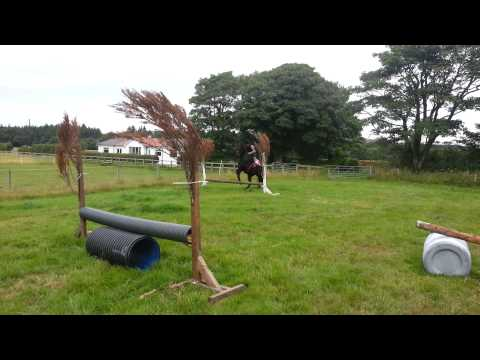 Iain and dj in jump field