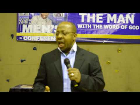 Cape Town Province Men Of Intergrity Conference Dr. Tad Friday