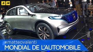 Mercedes EQ Concept | PARIGI 2016