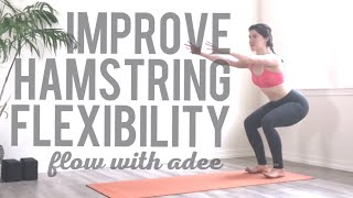 Focused Flexibility: Hamstrings