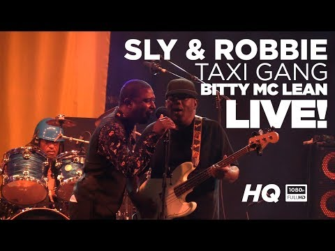 Sly & Robbie and Taxi Gang Live with Bitty MClean at Reggae Geel 2018 Belgium