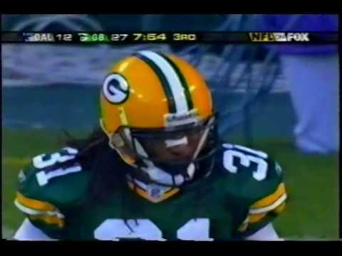 Testaverde to Jason Witten TD at Green Bay 2004