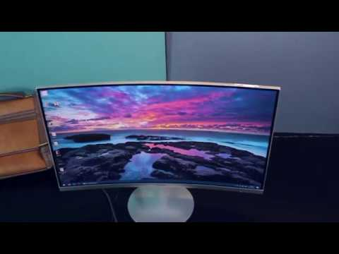 Samsung Curved Monitor With 1800R  (27 Inch) - Review