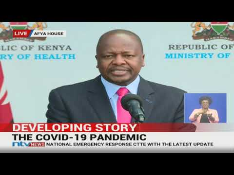 CS Kagwe Recognises Governor Joho's Efforts In Curbing Spread Of Virus In Mombasa