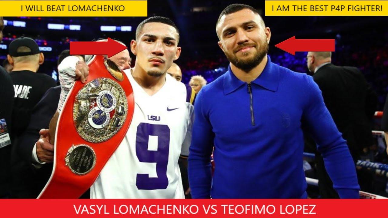 Fight - First Lopez 2020 Vs Prediction  Lomachenko Boxing
