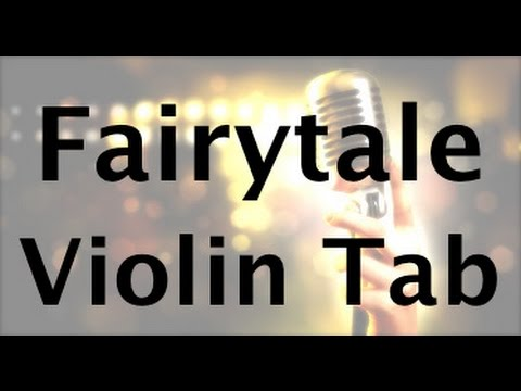 Learn Fairytale on Violin  How to Play Tutorial