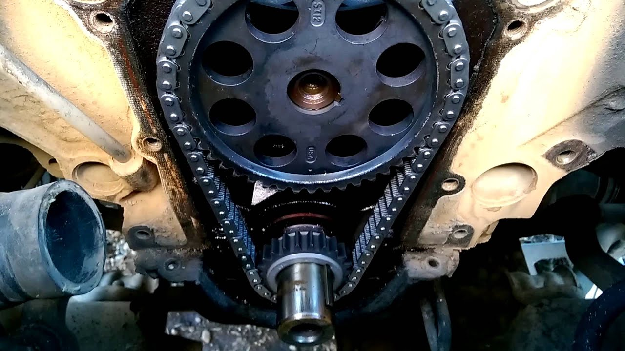 1999 Dodge Durango 5 9 Timing Chain Installation Youtube