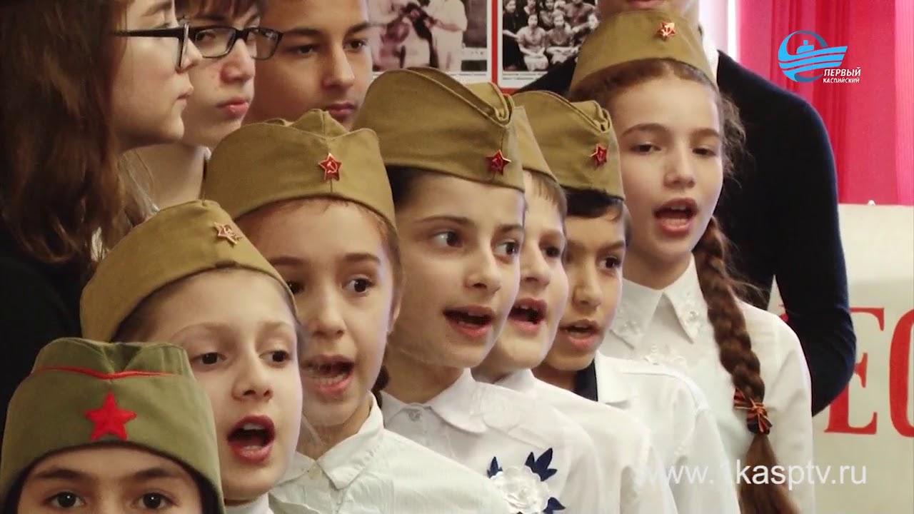 День защитника отечества отметили в каспийском краеведческом музее