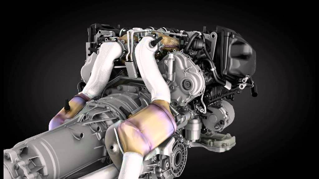 Bentley Continental V8 Engine Animation - YouTube