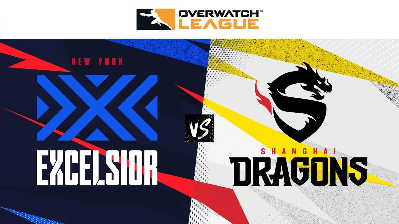 Losers Semi-Final | @NYXL vs  @Shanghai Dragons   | June Joust Tournament | Day 2