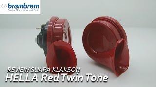 Review Suara Klakson HELLA Red Twin Tone   Brembrem