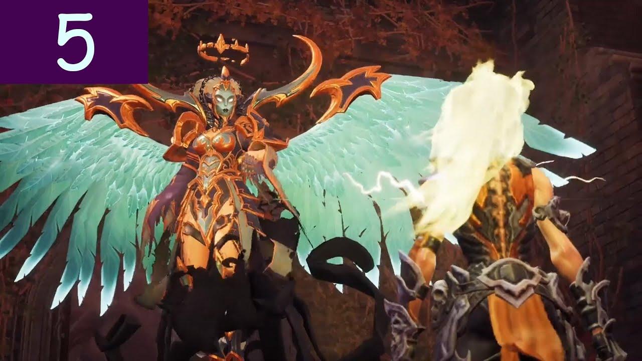 ¡Exploración y encuentro a Sobervia! Gameplay Darksiders 3 ...