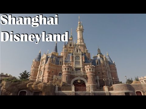 Shanghai Disneyland - Rides, food, parade and fun! - Tron , Pirates and other rides