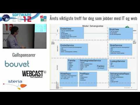 Dataforeningen, Software2012 - Massiv skalerbar skatteberegning v/Tormod Varhaugvik, Skatteetaten