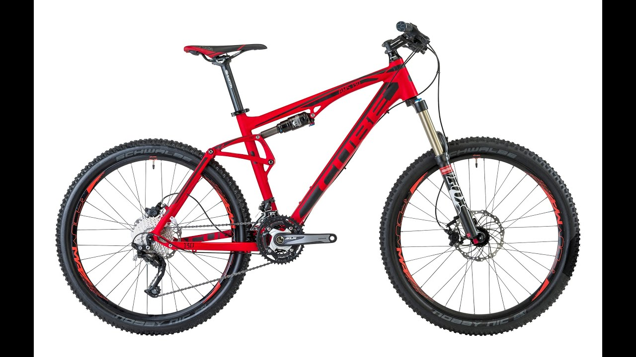CUBE AMS 130 RACE RED - YouTube