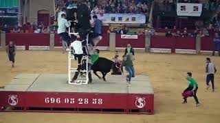 Dangerous Bull Fight Accidents Compilation 2018 Lucky and Funny People Fail Video Clips