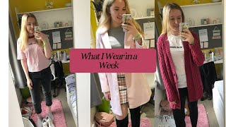 What I wear in a week to Uni -…