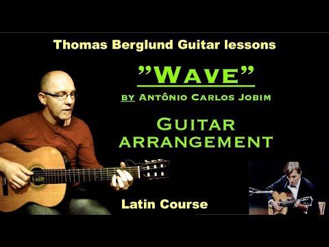Wave by Antônio Carlos Jobim  - Guitar arrangement - W&L Jazz guitar lesson