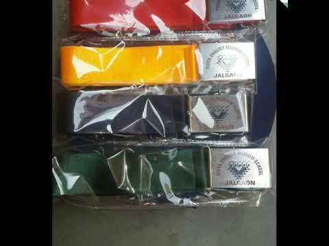 School uniform tie belt manufactue shriganpati traders delhi