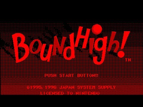 Virtual Boy Longplay [21] Bound High! (Beta) (3D)