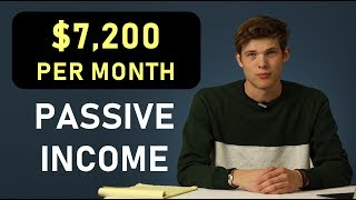 Passive Income: How I Make $7,200 A Month (5 Ways)