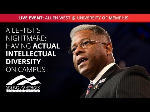 Fred Allen Lecture Series presents: Allen West LIVE at University of Memphis