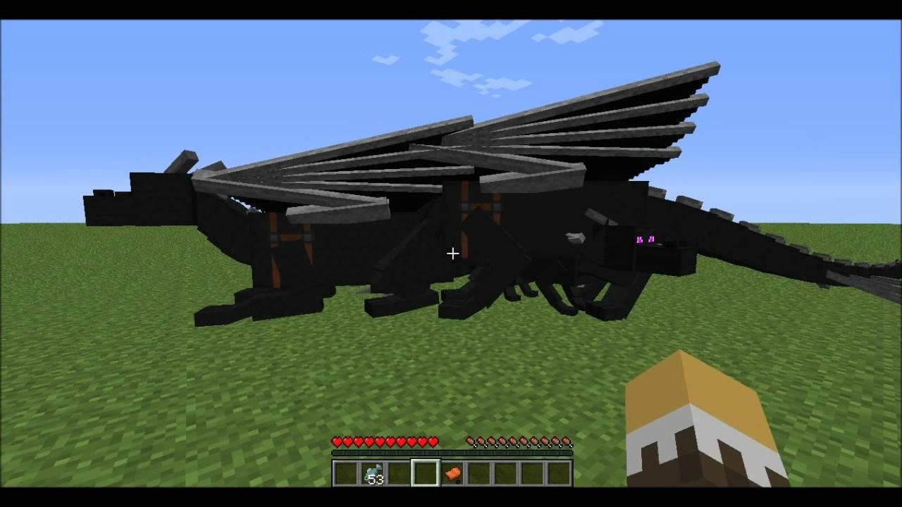 Dragon Mounts Mod W Qu Baby Ender Dragon Youtube