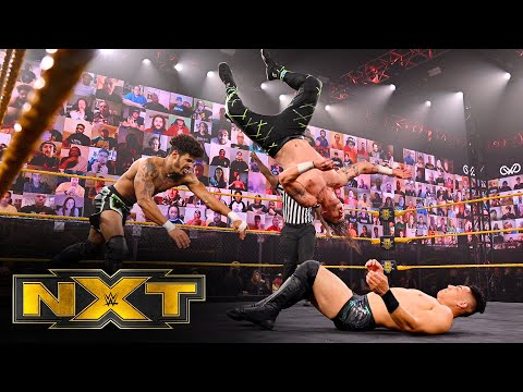 MSK vs. Atlas & Scott – Dusty Rhodes Tag Team Classic First Round: WWE NXT, Jan. 13, 2021