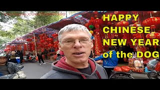 New Year in China - The year of the DOG!