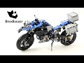 Lego Technic 42063 BMW R 1200 GS Adventure - Lego Speed Build