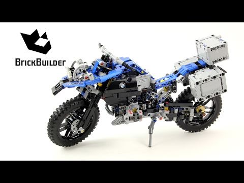 lego technic 42063 bmw r 1200 gs adventure lego speed. Black Bedroom Furniture Sets. Home Design Ideas