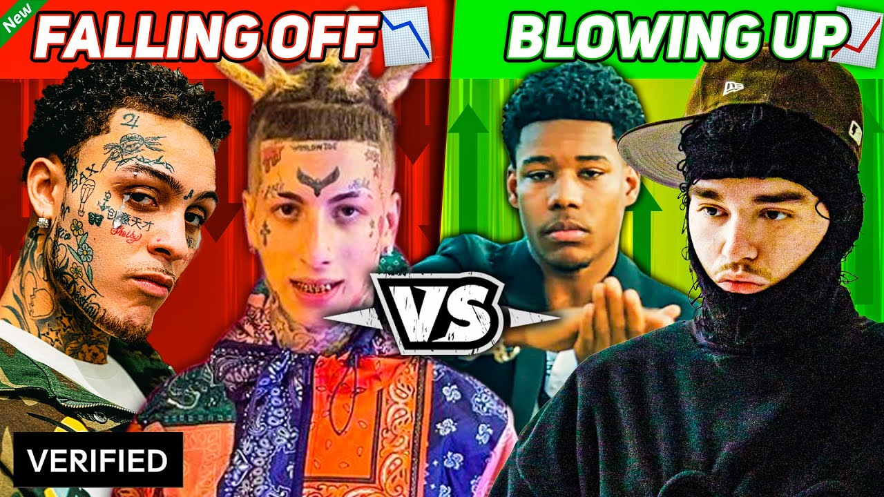 Rappers That Fell Off Vs. Rappers That Are Blowing Up *2021 EDITION*