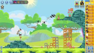 Angry Birds Friends Tournament Mania 2-3 ● LEVEL 3 ● 181 K HD ● Week 204 ●  POWER UP