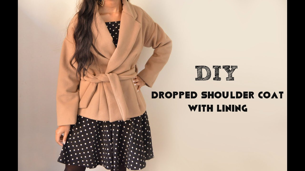 DIY: How to Sew a Wool Coat with Lining - YouTube