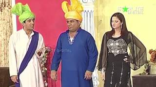 Best Of Zafri Khan and Nasir Chinyoti New Pakistani Stage Drama Full Comedy Funny Clip | Pk Mast