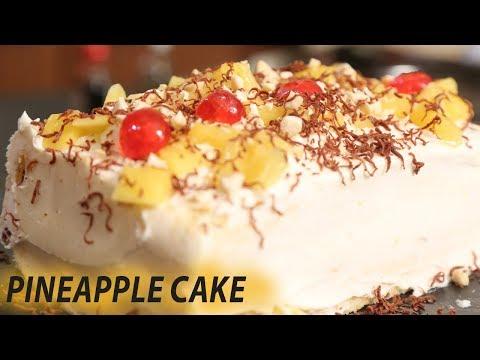 Pineapple Gateau Cake | Mallika Joseph Food Tube