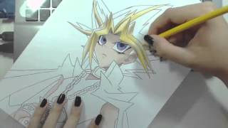 Speed Drawing - Yami Yugi (YU-GI-OH!)