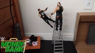 Strowman Throws Owens Off An Enormous Ladder: WWE Money in the Bank 2018 (Stop Motion)