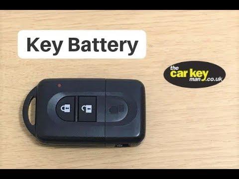 Nissan Micra Note Qashqai Proximity Key How To Change Key Battery